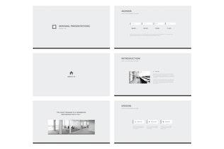 Thumbnail for MINIMALIST - Multipurpose Keynote Template V.09