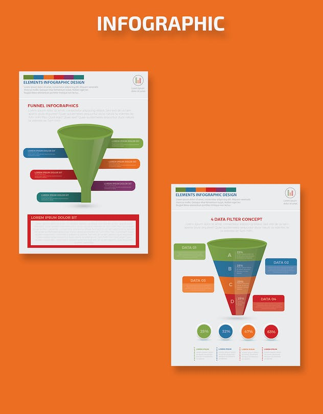 Filter Funnel Infographics Design - product preview 7