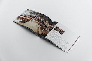 Thumbnail for Restaurant Brochure Template