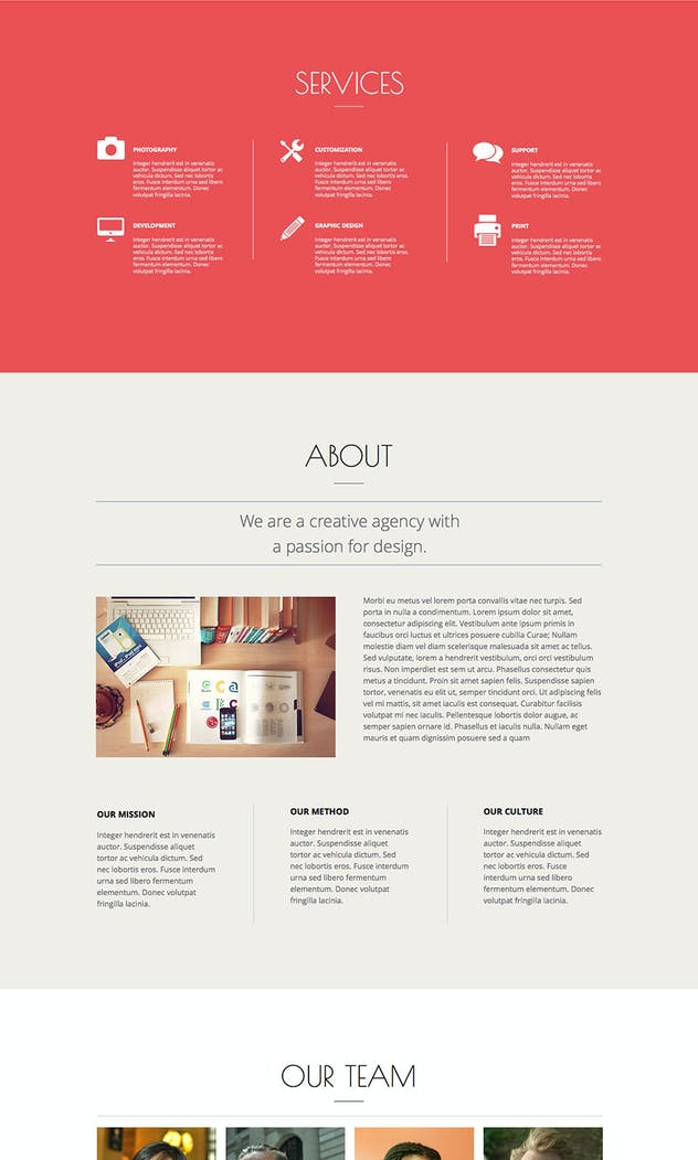 Puremuse - Clean Muse Template for Portfolios - product preview 1