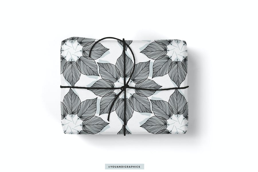 Lineart Floral Patterns & Elements - product preview 5