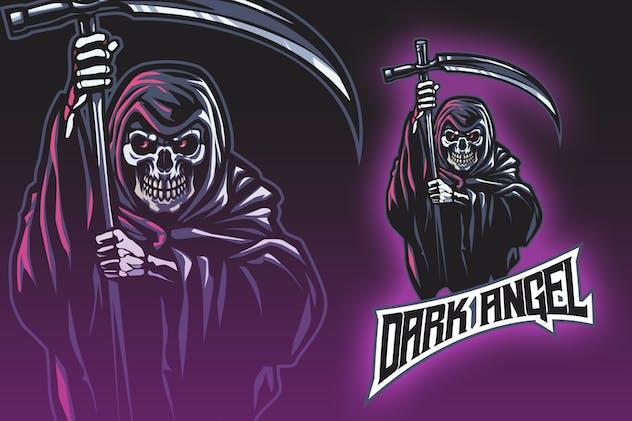 Skull Reaper Esport Logo