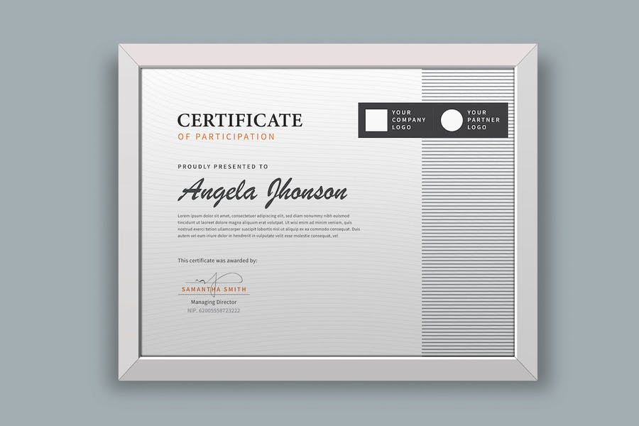 Certificate / Diploma Template Pro - product preview 1