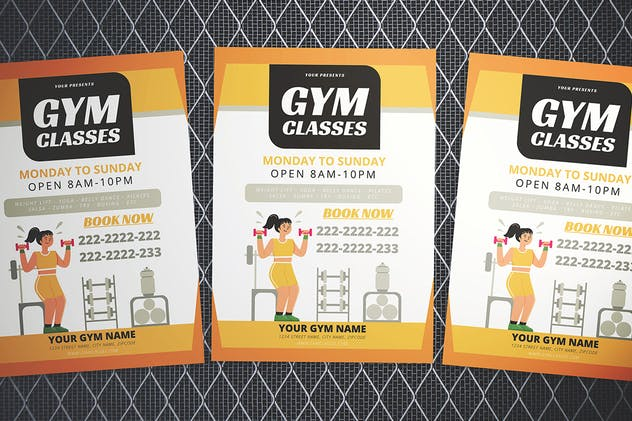Gym Flyer - product preview 3
