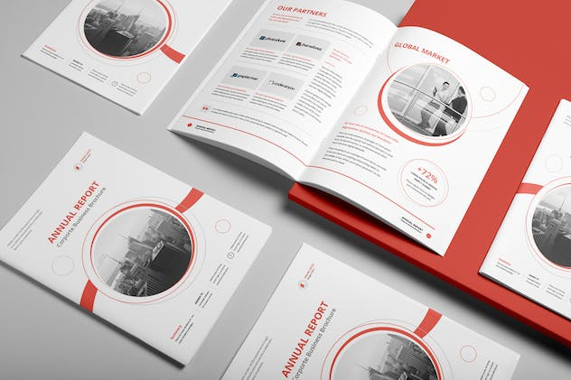 Annual Report A4 & Us Letter - product preview 1