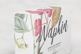 Thumbnail for Napkin Box Mockup