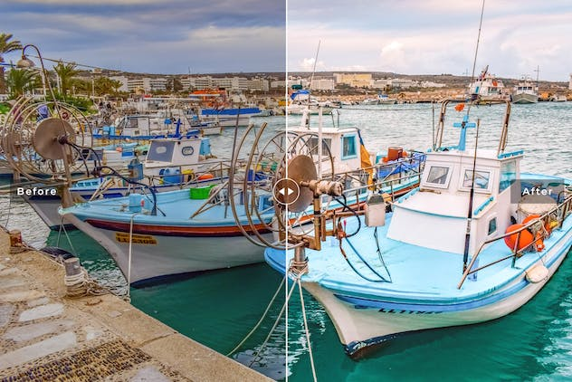 Ayia Napa Mobile & Desktop Lightroom Presets - product preview 1