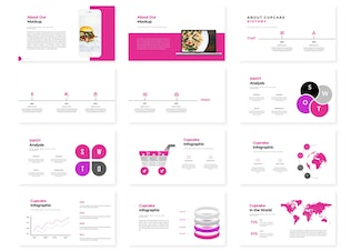 Thumbnail for Cupcake - Powerpoint Template