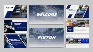 Миниатюра для PISTON - Шаблон слайдов Google