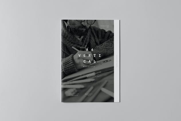 A4 Brochure Mock-up 3 - product preview 4