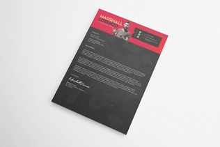 Thumbnail for Creative Resume & Cover Letter Template