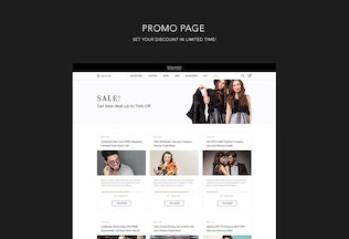 Thumbnail for Klambi e-Commerce Fashion Template PSD