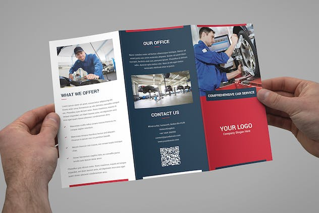 Brochure – Auto Repair Tri-Fold - product preview 2