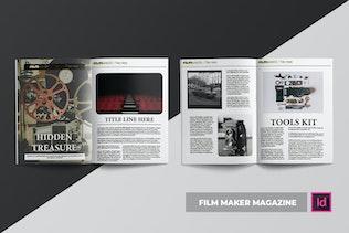 Thumbnail for Film Maker | Magazine Template