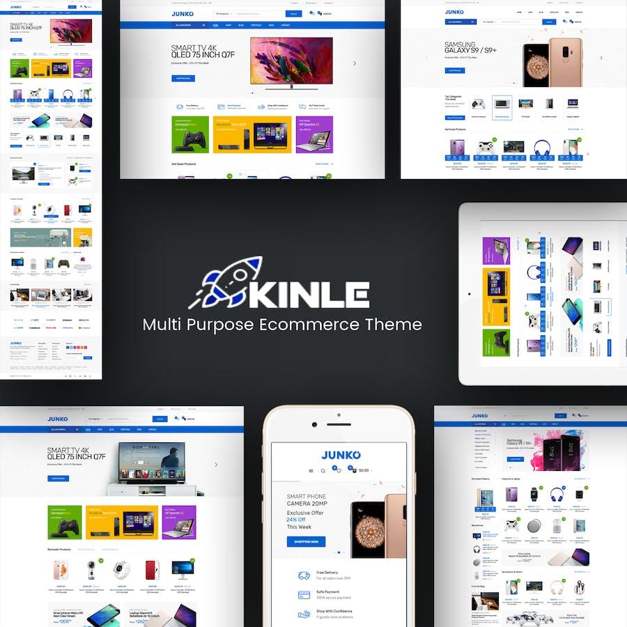 Kinle - Responsive Prestashop Theme - product preview 1