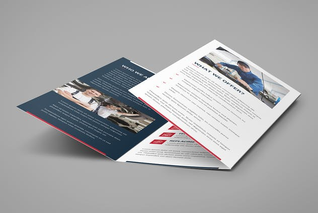 Brochure – Auto Repair Tri-Fold - product preview 3