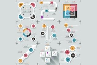 Thumbnail for Minimal Flat Infographics v.03