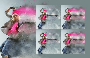 Miniature pour Dustum - Tempête de sable Photoshop Action