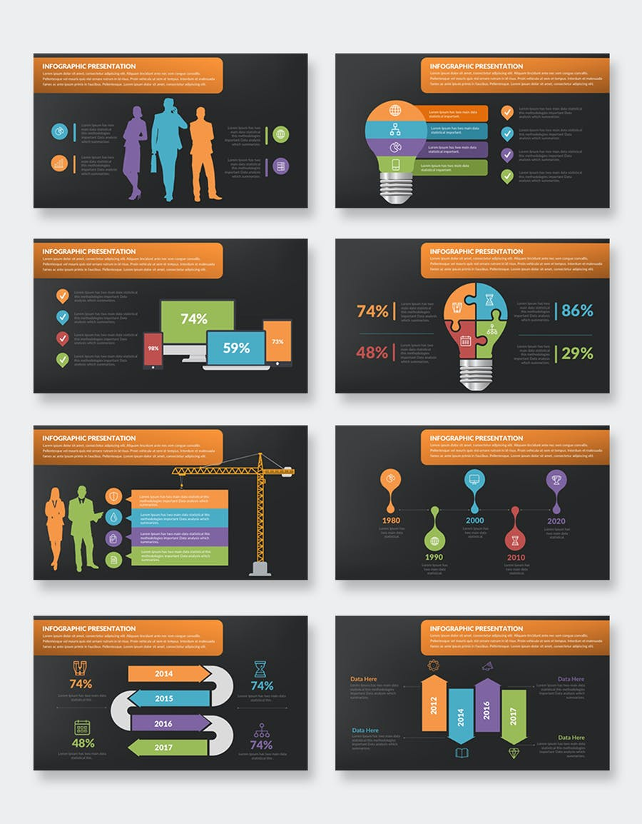 Infographics Keynote Presentation - product preview 6