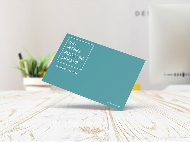 Postcard Mockup - product preview 4