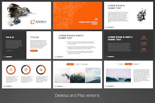 Thumbnail for Agency Keynote Template