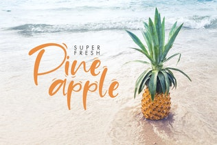 Thumbnail for Sand Beach Font