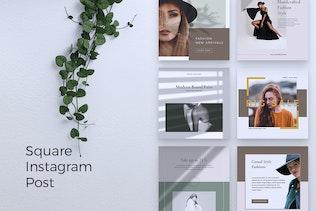 Thumbnail for NICHA Fashion Instagram & Facebook Post