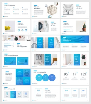 Thumbnail for Monthly Planner Keynote Template
