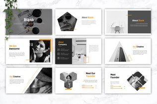 Thumbnail for BLANK - Creative Powerpoint Template