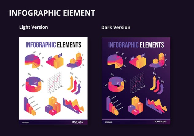Infographic Examples for Designer V.61 - product preview 2
