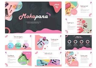 Миниатюра для Mokapana | Шаблон Powerpoint