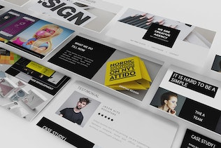 Thumbnail for Rockefeller Creative Email Template