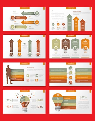 Thumbnail for Infographic Elements Keynote