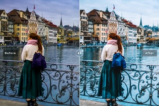Thumbnail for Switzerland Mobile & Desktop Lightroom Presets