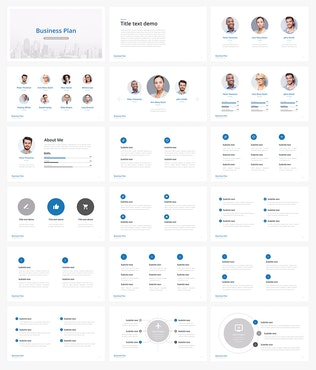 Thumbnail for Business Plan - Multipurpose Keynote Template