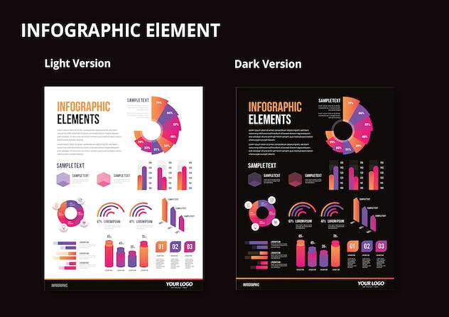 Infographic Examples for Designer V.63 - product preview 2