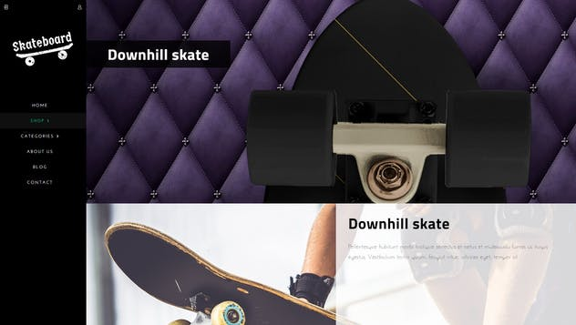 Skate board - Fullscreen Sports Shopify Theme - product preview 11