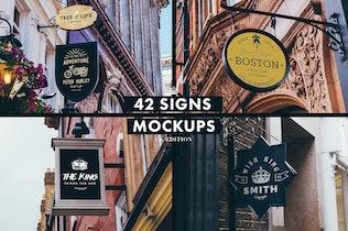 Thumbnail for Signs & Facades Mockups (UK edition)