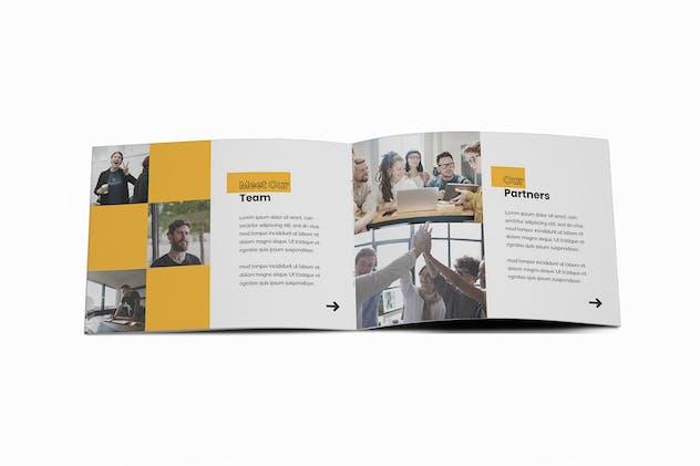 Company Profile A5 Brochure Template