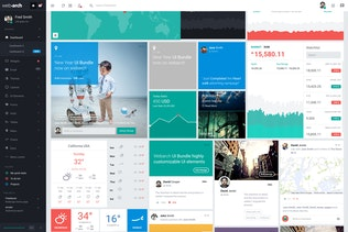 Thumbnail for Webarch - Responsive Admin Dashboard Template
