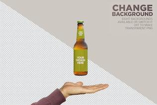 Thumbnail for Magic Beer Mockup
