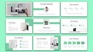 Thumbnail for Nel-C - Business Marketing PowerPoint Template