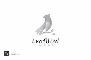 Thumbnail for Leaf Bird - Logo Template