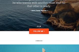 Миниатюра для Путешествия про Tumblr Тема