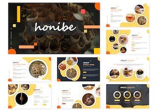 Миниатюра для Honibe | Шаблон Keynote
