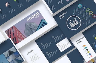 Thumbnail for Roogu Corporate Google Slides Template