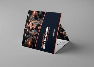 Brochure – Gym Tri-Fold Square