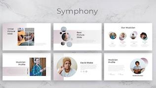 Миниатюра для Симфония — Шаблон креативного бизнес-Keynote
