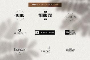 Túrin - Sin serifa y Con serifa Duo