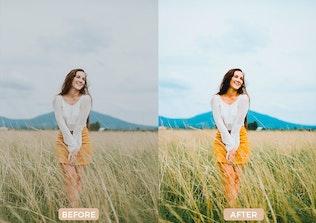 Thumbnail for 30 Vsco cam Inspired Lightroom Presets
